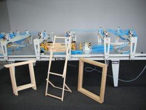 Prasa montażowa stołowa Typ PMS do okien 1