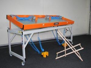 Prasa montażowa Typ PM do leżaków, ramek, podobrazi 1