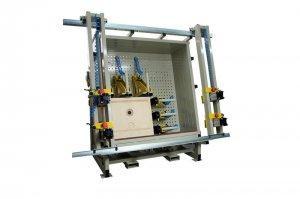 Prasa montażowa Typ PM do szuflad, skrzyń, korpusów, głośników 1