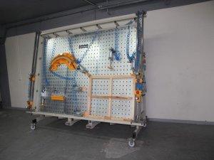 Prasa montażowa Typ PMO z płytą otworową 4