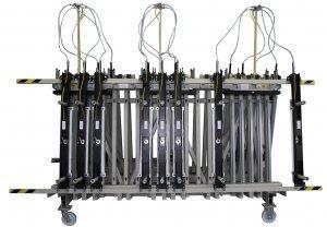 Prasa trapezowa Typ PTD dwustronna z dociskiem wyrównującym pneumatycznym 3
