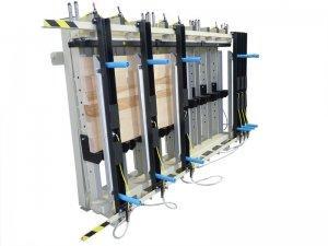 Prasa trapezowa Typ PTJ jednostronna z dociskiem wyrównującym pneumatycznym 4