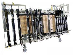 Prasa trapezowa Typ PTJ jednostronna z dociskiem wyrównującym pneumatycznym 1
