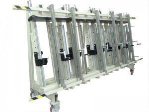 Prasa trapezowa Typ PTJ jednostronna 3