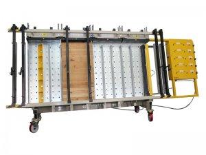 Prasa trapezowa Typ PTJ-O z płytą otworową i dociskiem bocznym 1