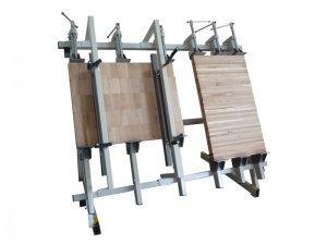 Ściski śrubowe przesuwne Typ SRW-1 na stojaku pionowym Typ SW-1 4